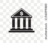 bank vector icon isolated on... | Shutterstock .eps vector #1156099885