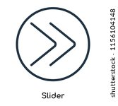 slider icon vector isolated on...