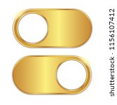 gold button switch on off... | Shutterstock .eps vector #1156107412