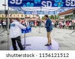 ume   sweden   august 14  2018. ... | Shutterstock . vector #1156121512