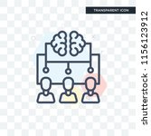 brainstorm vector icon isolated ... | Shutterstock .eps vector #1156123912