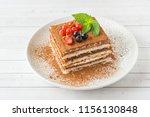 Delicious Tiramisu Cake With...