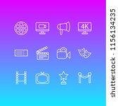vector illustration of 12... | Shutterstock .eps vector #1156134235