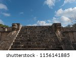 ruins  pyramid and temples  in... | Shutterstock . vector #1156141885