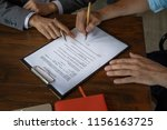 Small photo of make an agreement, make a contract, sign contract