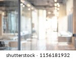 abstract blurred office... | Shutterstock . vector #1156181932