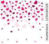 background of love hearts | Shutterstock .eps vector #1156184128
