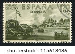 spain   circa 1967  stamp... | Shutterstock . vector #115618486