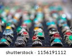 gold jewelry decorated with... | Shutterstock . vector #1156191112