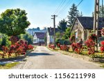idyllic eastern european...   Shutterstock . vector #1156211998