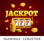 slot machine lucky sevens... | Shutterstock .eps vector #1156227418