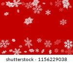 winter snowflakes border magic...   Shutterstock .eps vector #1156229038