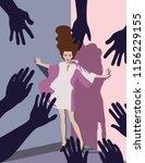 diversity   violence against... | Shutterstock .eps vector #1156229155