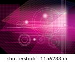 abstract geometric  background | Shutterstock .eps vector #115623355