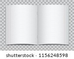 vector opened realistic squared ... | Shutterstock .eps vector #1156248598