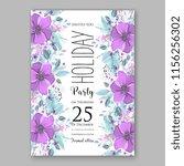 floral vector background for...   Shutterstock .eps vector #1156256302