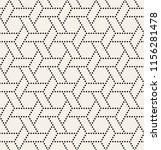 vector seamless pattern. modern ... | Shutterstock .eps vector #1156281478