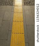 tactile paving   sidewalk... | Shutterstock . vector #1156324012