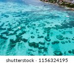 an aerial view of isla mujeres... | Shutterstock . vector #1156324195