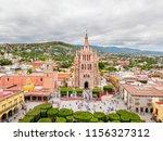 san miguel de allende aerial... | Shutterstock . vector #1156327312