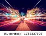 Motion Speed Light In London...
