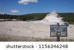 castle geyser in yellowstone... | Shutterstock . vector #1156346248