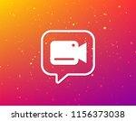video camera icon. film... | Shutterstock .eps vector #1156373038