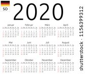simple annual 2020 year wall... | Shutterstock .eps vector #1156399312