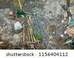 construction site graphical... | Shutterstock . vector #1156404112