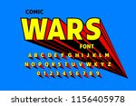 comics style font design ... | Shutterstock .eps vector #1156405978