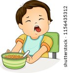 illustration of a kid boy... | Shutterstock .eps vector #1156435312