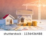 real estate or property... | Shutterstock . vector #1156436488