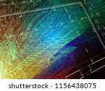 blueprint abstract background ... | Shutterstock . vector #1156438075