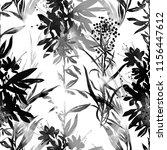 imprints abstract meadow herbs... | Shutterstock . vector #1156447612