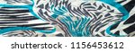insulated synthetic fabric with ... | Shutterstock . vector #1156453612