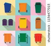 separation recycle bin waste... | Shutterstock .eps vector #1156477015