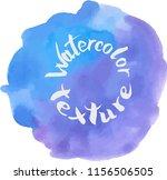 handpaint watercolor vector... | Shutterstock .eps vector #1156506505
