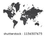 high resolution map of the... | Shutterstock .eps vector #1156507675