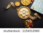 raksha bandhan festival  ... | Shutterstock . vector #1156513585