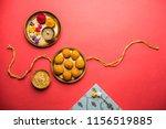 raksha bandhan festival  ...   Shutterstock . vector #1156519885