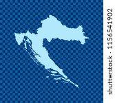 map of croatia   Shutterstock .eps vector #1156541902