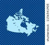 map of canada   Shutterstock .eps vector #1156541905