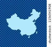 map of china   Shutterstock .eps vector #1156541908