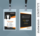 creative id card design template | Shutterstock .eps vector #1156557172