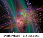 abstract digital background | Shutterstock . vector #1156561858