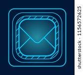 technology hologram blue post...