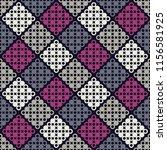 polka dot seamless pattern.... | Shutterstock .eps vector #1156581925