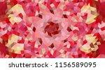 geometric design  mosaic of a... | Shutterstock .eps vector #1156589095