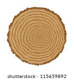 Cross Section Of Tree Stump ...