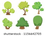 tree vector icon isolated on...